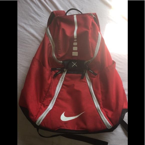 Nike Elite Backpack Red Black White. M 5b711b614cdc30b0f894ce3b 8eb10a7837b5